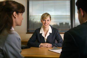 Mortgage Broker Meeting Couple